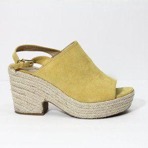 JustFab Platform Sandals sz 10 Women Espadrille